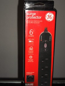 San Diego Blackout Power surge protector