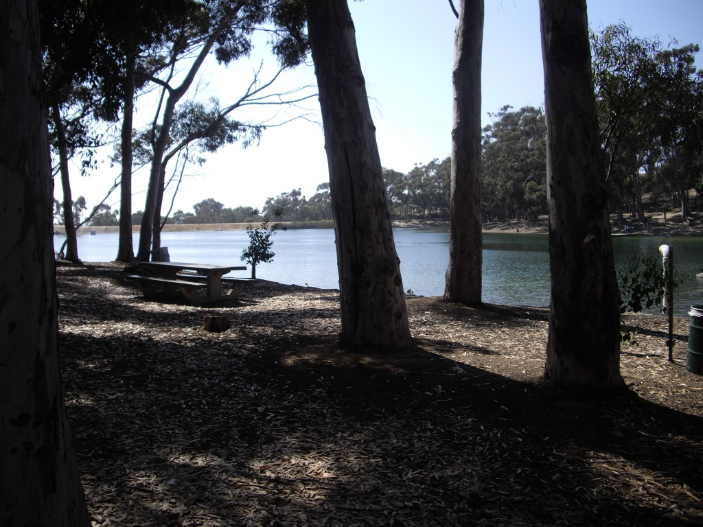 Picnic table Chollas Lake San Diego